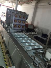 上海厂家直销   流水线  餐盒封口机   双排封口机   高效率