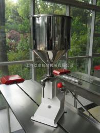 SY-50上海厂家供应     SY-50手动   膏、液两用灌装机  50毫升灌装量