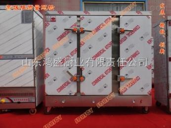 HSDQLYSMZFG-1鸿盛电汽两用三门蒸饭柜
