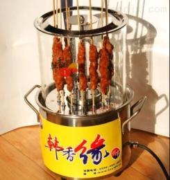 KW15-C无烟电烤炉自动烧烤炉自转烤串机韩香缘厂家直销
