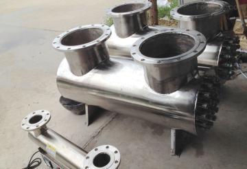 uv-uvc-2500廠家直銷天門紫外線殺菌器,工業養殖水處理,飲料食品廠,酒廠乳制品廠水處理設備
