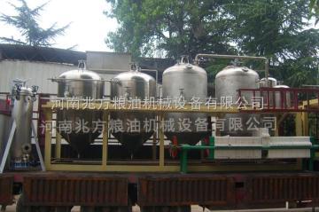 齊全山東黃豆榨油設備/大豆精煉設備工藝流程