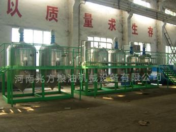 齐全郑州油脂设备/葵花籽油精炼设备制造厂家