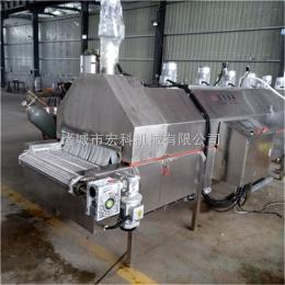 HK-900隧道式网带速冻机 压缩机 批量快速急冻 禽肉乳制品也可用 宏科