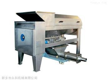 酿酒设备1-40T/h葡萄除梗破碎机