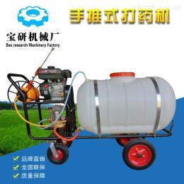 BY打药机热销农业机械高压农药机  四轮手推式打药机 效率高