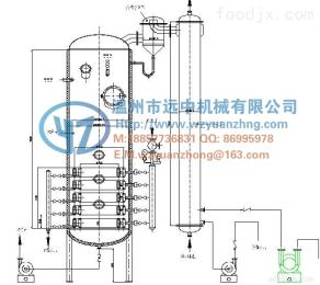 QN-1000PN盘管式真空浓缩器