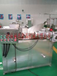 LJ-1000山東利杰不銹鋼油炸設備/多功能油炸機/麻花油炸機