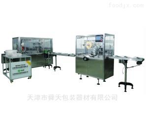 全自动三维透明膜包装机械设备
