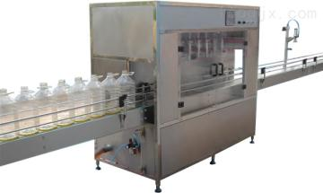ZBDG济南冠邦供应全自动液体灌装机全自动食用油灌装机