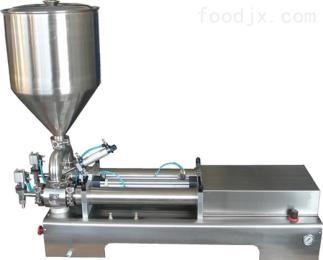 DG济南冠邦供应半自动单头膏体灌装机蜂蜜牙膏面霜灌装机