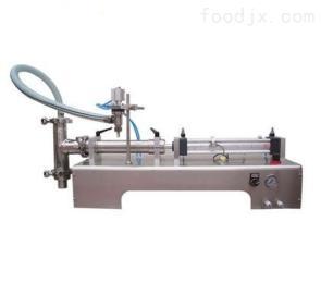 DY济南冠邦供应半自动卧式单头液体灌装机