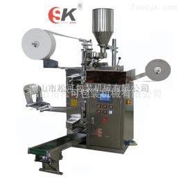 SK-169佛山 碧螺春袋泡茶 全自动茶叶包装机 带线带标滤纸茶叶包装机