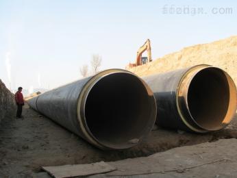 钢套钢直埋保温管 ,预制聚氨酯直埋保温管