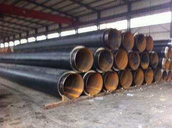 聚氨酯硬质发泡保温管 ,塑套钢聚氨酯保温管