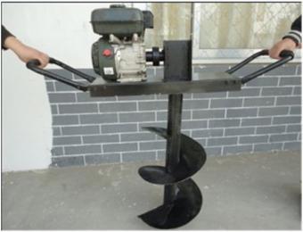 挖坑机立式打洞机轻便电启动汽油植树挖坑机 型号