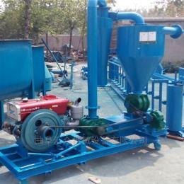 气力吸粮机大型气力输送机知名 高扬程风送式抽料设备