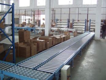 滚筒输送机福州生产水平输送滚筒线 纸箱动力辊筒输送