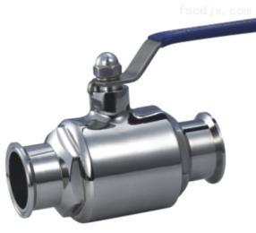 卫生级卫生级不锈钢法兰球阀 手动法兰直通球阀