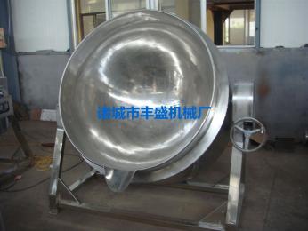 FS不锈钢燃气加热夹层锅 燃气夹层锅