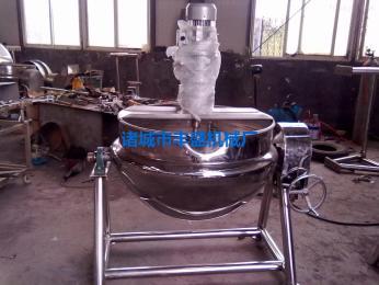 FS夹层锅 不锈钢搅拌夹层锅 豆浆 牛奶煮锅