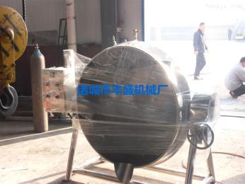 FS不锈钢电加热夹层锅 卤味蒸煮锅 卤煮锅