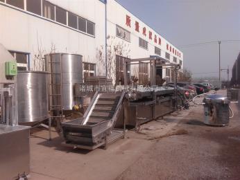 YFD-6000炸豬皮全自動油炸機宜福連續油炸肉皮生產線