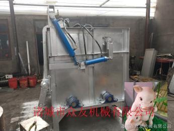 zy-200液压全自动肥猪脱毛机配自动控温烫锅