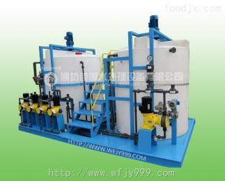 JY-08絮凝剂加药装置PAM全自动加药装置设备原理
