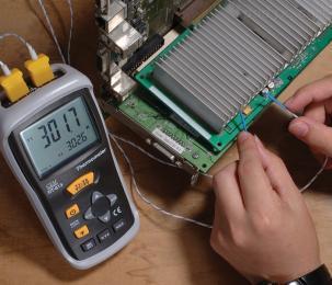 DT-613数显双通道温度表 手持式测温表
