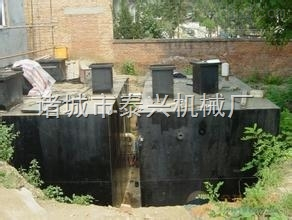 WSZ1-WSZ50四川宁南地埋式污水处理设备  专业污水处理设备型号价位