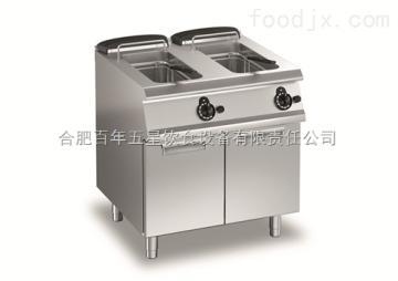 AVEF77百年五星廚具供應AVEF77電力雙缸炸爐連柜700*700*850