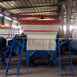 HY-1200廢舊管材粉碎機、新型管材撕碎機設備攜手綠色發展