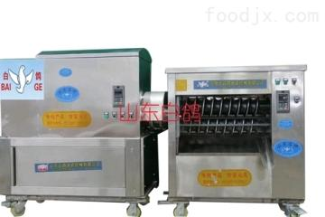HMZ50—70山東白鴿HMZ50—70型數控變頻直連體饅頭機