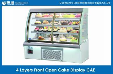 CAE-150四层前开门弧形蛋糕柜