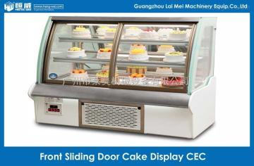 CEC-180前开门弧形蛋糕柜