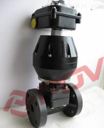 G6B41J三通UPVC气动隔膜阀