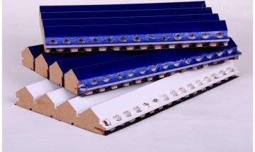 15MM南城縣天花吊頂穿孔槽木板開槽吸音板