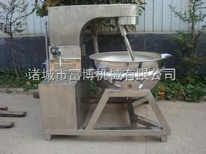 300L诸城富博机械优质行星搅拌夹层锅 不锈钢设备导热油加热蒸煮锅