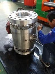 Q347Y-2500LB蜗轮不锈钢球阀