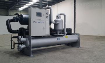 大型水冷螺杆式冷冻机,满液式冷水机组