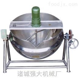 500L鸭脖熬煮锅扒鸡煮锅立式夹层锅