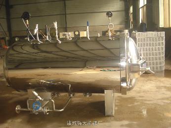 800*1500蛋制品/肉制品高溫殺菌鍋/雙層不銹鋼滅菌鍋