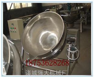 300L自动燃气炒锅豆制品夹层锅