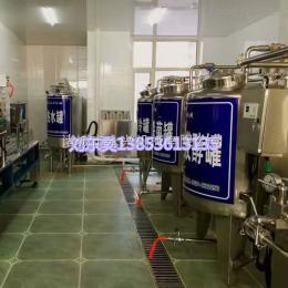 500型鲜奶巴氏灭菌罐 巴氏奶生产线 纯牛奶生产线