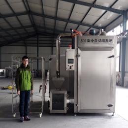 500型蒸熏炉/肉制品熏鸡烟熏炉/烟熏设备