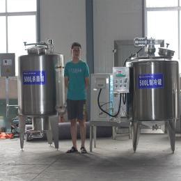 本溪市(500L)鮮奶不銹鋼貯存制冷設備