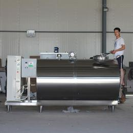 5000上海大型卧式牛奶制冷罐