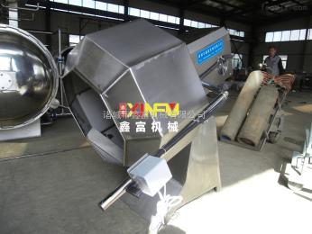 XF-60厂家半自动八角拌料机 休闲食品调味设备 鑫富
