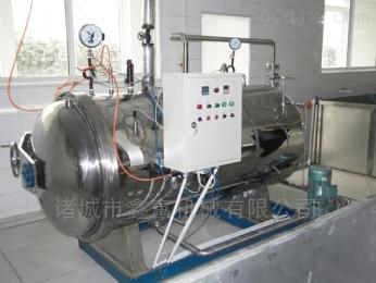 ZQ-900咸蛋高温高压灭菌蒸煮锅,蒸汽式杀菌釜